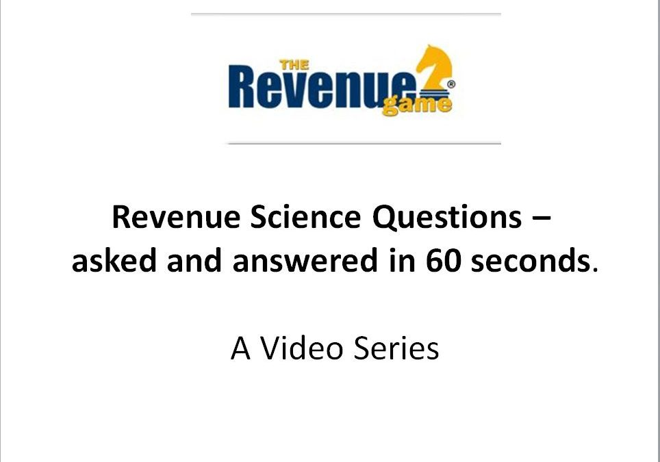 Sales vs Revenue- VIDEO
