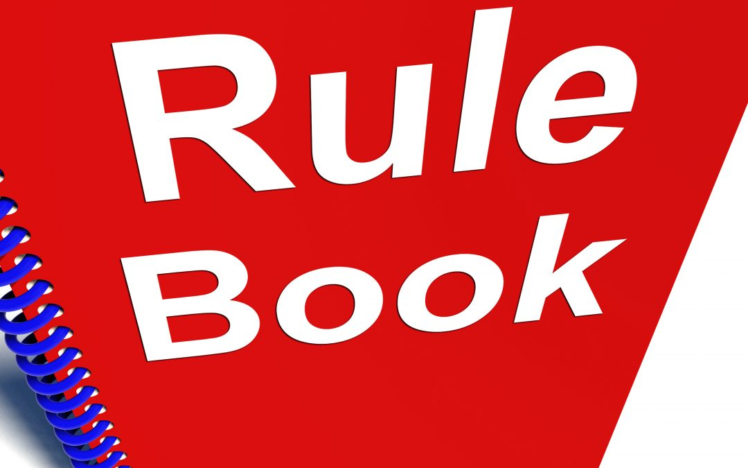 You Just Shouldn't Be There: 12 Rules to Make Sure You Aren't!