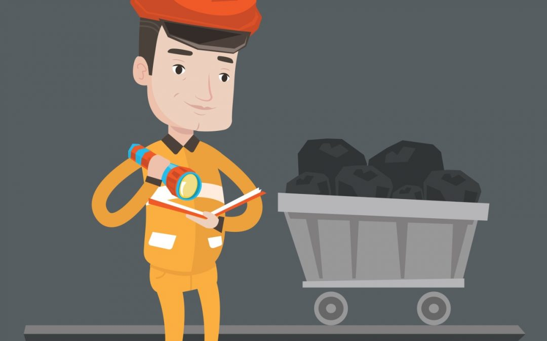 To Get Rich you Need a Geologist, a Mining Engineer and a Miner, or a Lucky Salesperson