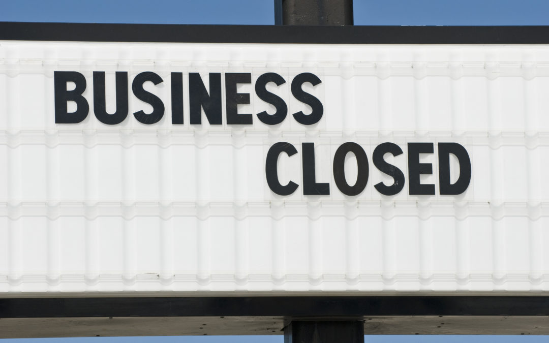 Whose company goes out of business first?